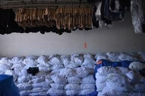 USNA Laundry Service - Storage
