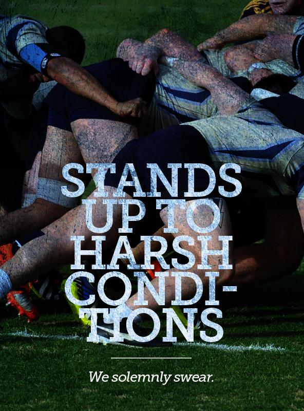 USNA Rugby team scrumming, Navyonline.com gear stands up to harsh conditions, we solemnly swear