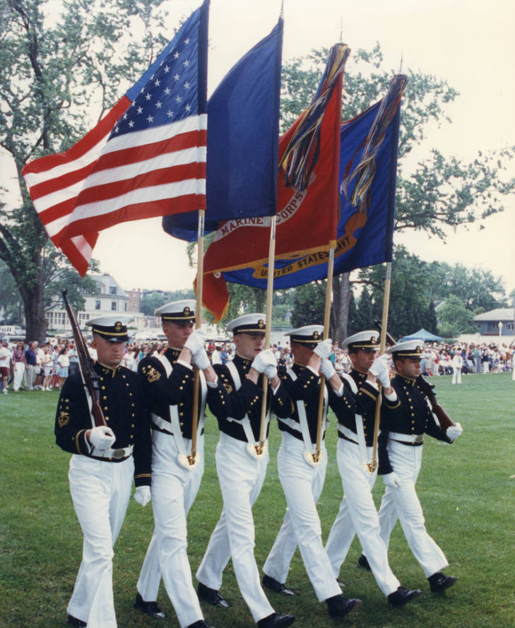 USNA Parades Blog Image